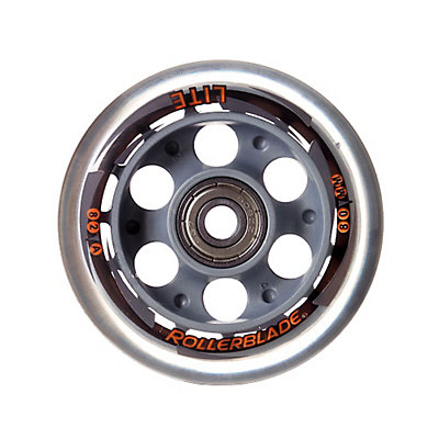 Rollerblade Wheels Replay 80mm 82A Inline Skate Wheels with SG7 Bearings - 8 Pack 2015, , large