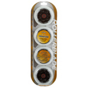 Rollerblade 100mm 84A Inline Skate Wheels with HTO PRO Bearings - 8 Pack, , medium