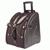 Athalon Sport Bags Athalon Molded Wheeling Ski Boot Bag 2013, Platinum, medium
