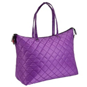 Athalon Shopper Tote Bag, Purple, medium