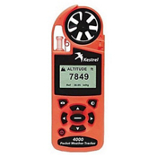 Kestrel 4000 Pocket Weather Tracker with Bluetooth, Safety Orange, medium