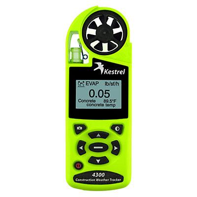 Kestrel 4300 Construction Weather Tracker, Safety Green, large