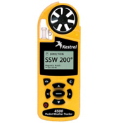 Kestrel 4500 Pocket Weather Tracker with Bluetooth, Yellow, medium