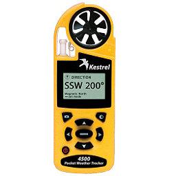 Kestrel 4500 Pocket Weather Tracker with Bluetooth, Yellow, 256