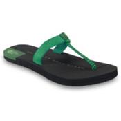 The North Face Keilani Womens Flip Flops, Sullivan Green-Hamel Green, medium