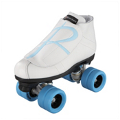Riedell 796 Hybrid Jam Roller Skates, Wheels: SkyBlue - Overlay: SkyBlue, medium