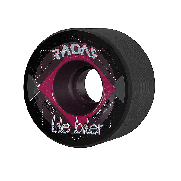 Radar Tile Biter Roller Skate Wheels - 4 Pack, , 600