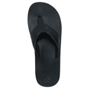 Reef Leather Smoothy Mens Flip Flops, Murdered, medium