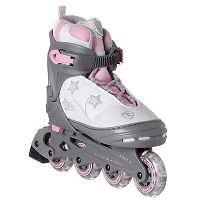 Ultra Wheels Evolver Stars Adjustable Girls Inline Skates, , large