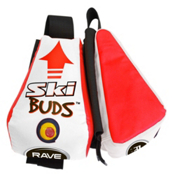 Rave Ski Buds, White-Orange, medium