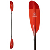 Werner Paddles Camano Straight Small Shaft Kayak Paddle, Red, medium