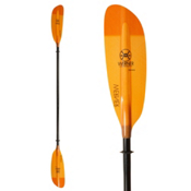 Werner Paddles Camano Straight Small Shaft Kayak Paddle, Orange, medium