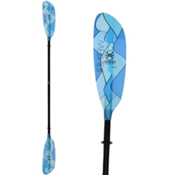 Werner Paddles Camano Straight Small Shaft Kayak Paddle 2017, Swellz Blue, medium