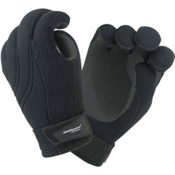 Stohlquist MAW Paddling Gloves, Black, medium