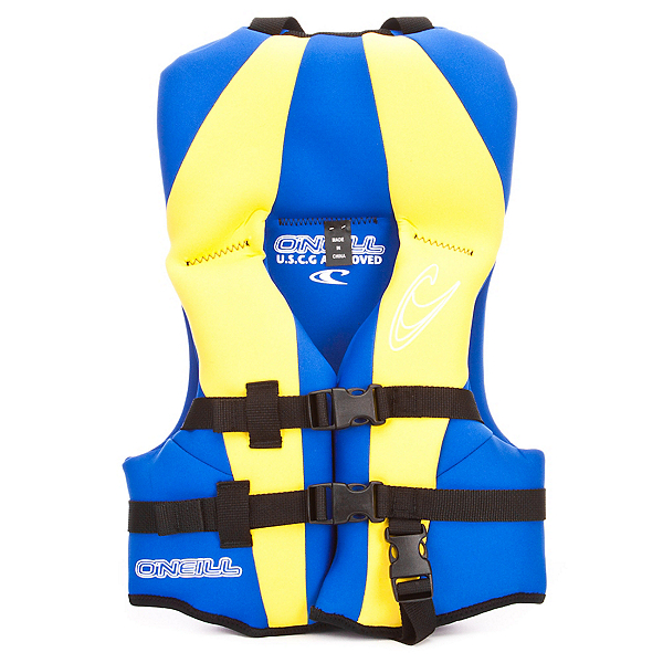 O'Neill USCG Infant Life Vest, Pacific-Yellow-Pacific, 600