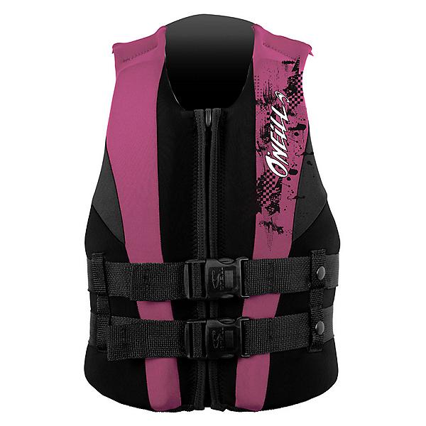 O'Neill Youth USCG Vest Junior Life Vest 2017, Black-Petunia-Coal, 600