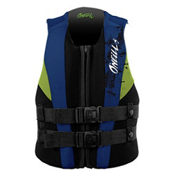 O'Neill Youth USCG Vest Junior Life Vest 2017, Black-Pacific-Day Glo, 256