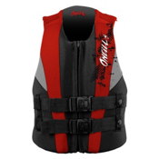 O'Neill Youth USCG Vest Junior Life Vest 2017, Coal-Red-Flint, medium
