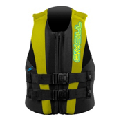 O'Neill Child USCG Vest Toddler Life Vest 2017, Coal-Yellow-Black, medium