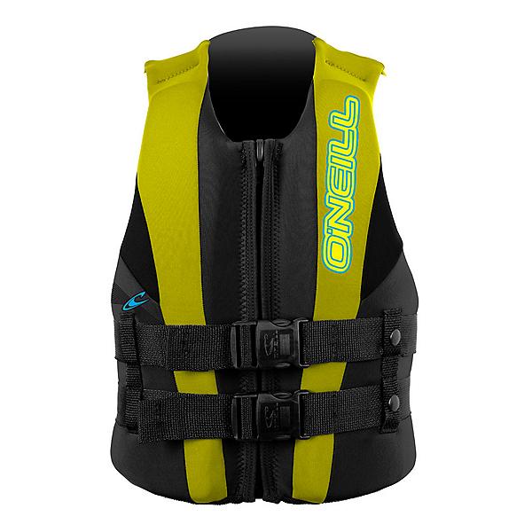 O'Neill Child USCG Vest Toddler Life Vest 2017, Coal-Yellow-Black, 600