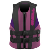 O'Neill Child USCG Vest Toddler Life Vest 2017, Petunia-Coal-Ultraviolet, medium