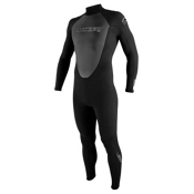 O'Neill Reactor 3/2 Full Wetsuit 2017, Black-Black-Black, medium