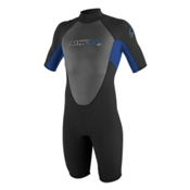 O'Neill Reactor 2mm Shorty Wetsuit 2017, Black-Pacific-Graphite, medium