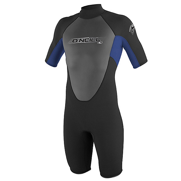 O'Neill Reactor Kids Shorty Wetsuit 2017, Black-Pacific, 600