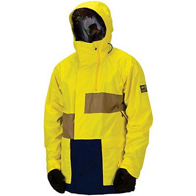 Bonfire Blur Mens Shell Snowboard Jacket, , large