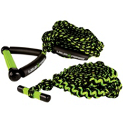 Liquid Force EVA Grip Wakesurf Rope 2013, Green-Black, medium