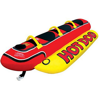 Airhead Hot Dog 3 Person Towable Tube, , viewer