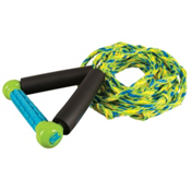 Straight Line Combo Wakesurf Rope 2017, Green-Blue, medium