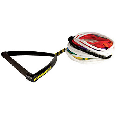 Straight Line Water Ski 8 Section Eliptical Handle Water Ski Rope 2014, , large