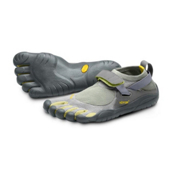 Vibram FiveFingers KSO Womens Watershoes, Grey-Palm-Clay, medium