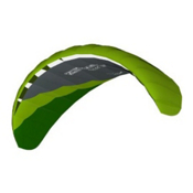 HQ Kites Rush IV Power Kite, Green, medium