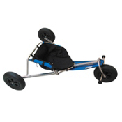HQ Kites Peter Lynn Folding Wide Wheel Kite Buggy, , medium