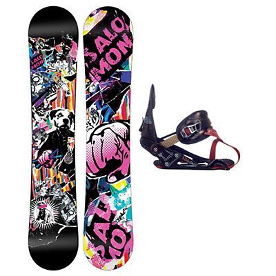 Salomon Riot Magnum Snowboard and Binding Package, , large