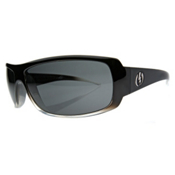 Electric Charge Sunglasses, Black Clear Fade, medium