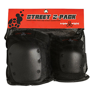 Triple 8 Street Protective 2-Pack 2016, Black, viewer