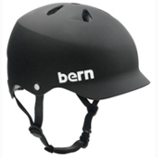 Bern Watts EPS Mens Skate Helmet 2013, Matte Black, medium
