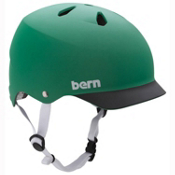 Bern Watts Hard Hat, Matte Green-Black Brim, medium