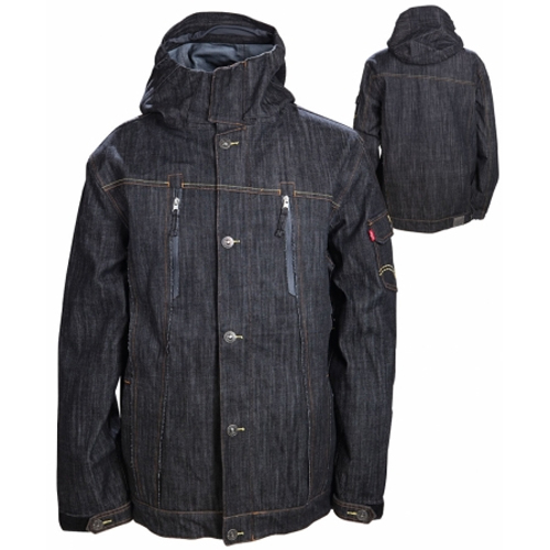 686 TMS Levis 3-Ply Process Mens Shell Snowboard Jacket