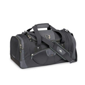 High Sierra 22 Inch Sport Travel Duffel Bag, Go Gray-Dark Tungsten-Black, medium