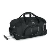 High Sierra 30 Inch Wheeled Duffel Bag, Black, medium