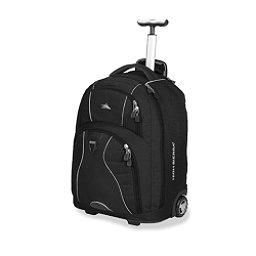 High Sierra Freewheel Wheeled Bag, Black, 256