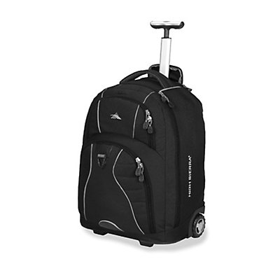 High Sierra Freewheel Wheeled Bag, Black, viewer