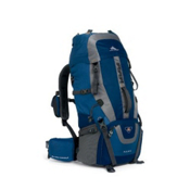High Sierra Hawk 45 Backpack 2013, Pacific Nebula Ash, medium