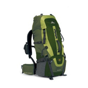 High Sierra Hawk 45 Backpack 2013, Amazon Pine Leaf, medium