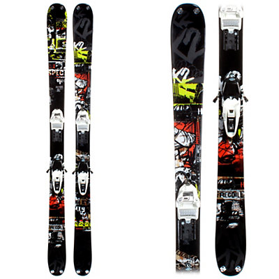 K2 Recoil Schizo Skis with Marker Squire Schizo Bindings, , viewer