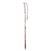 K2 Sprout Adjustable Kids Ski Poles, Pink-Orange, medium
